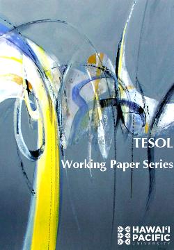 TESOL Working Paper Series