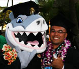Sharky Graduation